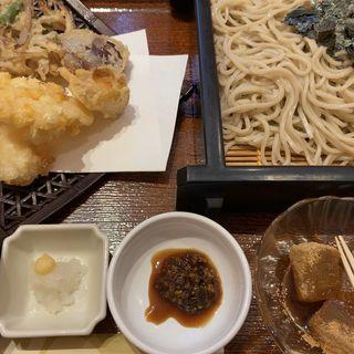 北海道天ザル(そばうどん 花旬庵 )