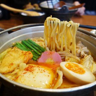 チゲ味噌めんちゃんこ(博多めんちゃんこ亭 六本松店)
