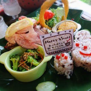 クリスマスランチ(ハッピーエッグカフェ (Happy egg cafe))