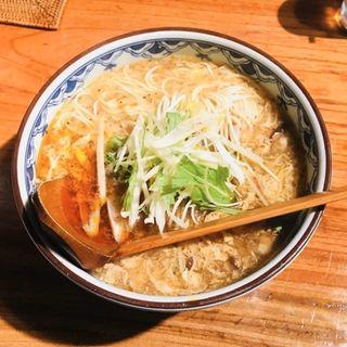 酢辣湯麺(銀座梵天 )