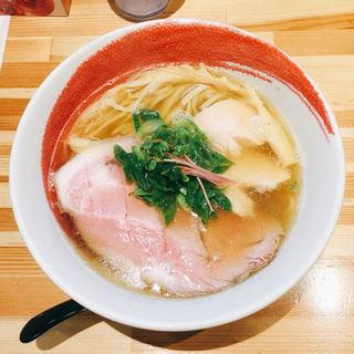 羅臼昆布と焼きアジの塩らーめん(麺や 凛)