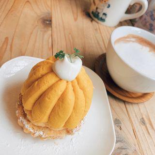 かぼちゃのモンブラン(ハティフナット (HATTIFNATT))