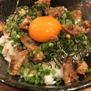卵かけご飯(炭火焼鳥 麻布 ウグイス )
