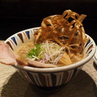 にぼし吟醸nigori(鶏Soba 座銀 にぼし店 (トリソバ ザギン))