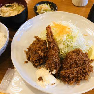 ミックスフライ定食B(ムク (MuKu))