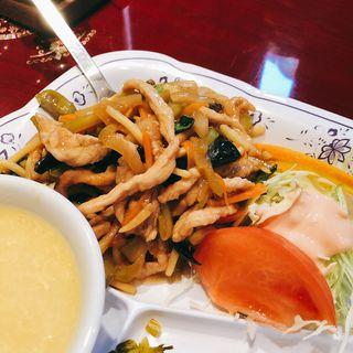 豚肉の搾菜炒め(中華楼 本店 (チュウカロウ))