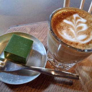 コーヒーと抹茶テリーヌ(ブルーボトルコーヒー京都カフェ)