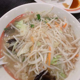 塩タンメン(幸楽苑 鳩ヶ谷里店)