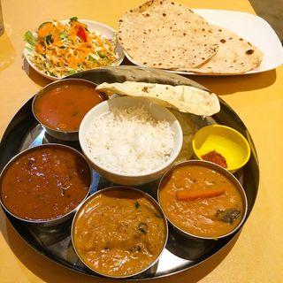South Indian Thali(アムダスラビー 東日本橋店)