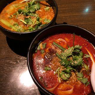 麻辣刀削麺(張家 恵比寿店)
