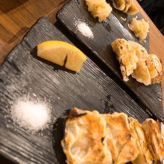 chaovia餃子、えび餃子、鶏つみれとチーズ餃子(ChaoVia 大阪駅前第2ビル店)