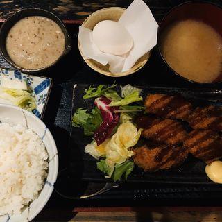 大粒カキフライ膳(裏恵比寿 自然生村)