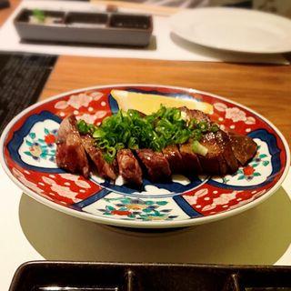 牛タン鉄板焼き(八丁堀黒きん )
