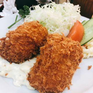 カニクリームコロッケ(洋食大吉)
