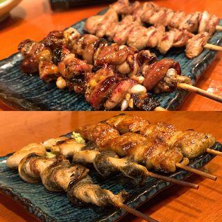 鰻串 盛り合わせ(しらゆき)