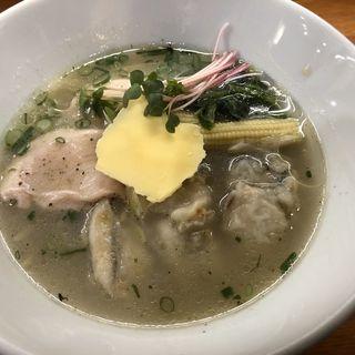 牡蠣塩レモンバターらあめん(醤油と貝と麺 そして人と夢 )