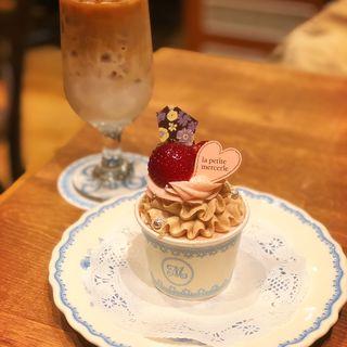 パスタランチ カップケーキ付き(ラ・プティ・メルスリー ルミネ有楽町店 (la petite mercerie))
