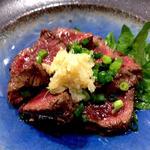 エゾシカ肉のタタキ(冬限定)