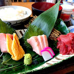 鮪三種盛り定食(寿司吉 )
