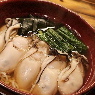 牡蠣そば(蕎麦前ながえ、)
