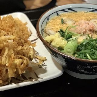 海鮮玉子あんかけ(帆立かき揚げ)(丸亀製麺 イオン板橋店 )
