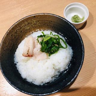 金目鯛茶漬け(らぁ麺 鳳仙花)