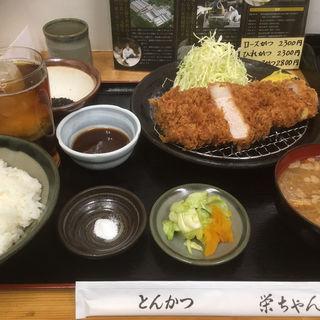 むさしの麦豚 厚切りロースかつ(栄ちゃん (えいちゃん))