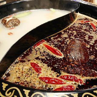 オシドリ鍋(櫻上 重慶火鍋)
