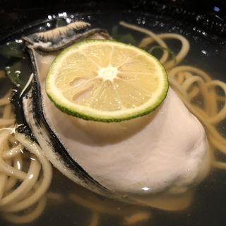 牡蠣そば(妻恋坂 けい吾 )