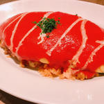 チキンオムライス(パームスカフェ (Palms cafe))
