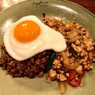 ガパオ炒めご飯(モンスーンカフェ G-Zone 銀座)