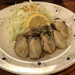 カキバター炒め(いっぽ )