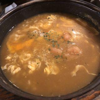 (トッピング)めんたい+チーズ 雑炊(ぞうすいの店 お通 中洲店 )