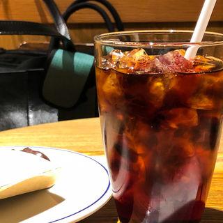 アイスコーヒー(カフェ エクセルシオール 八重洲地下街店 (CAFE EXCELSIOR))