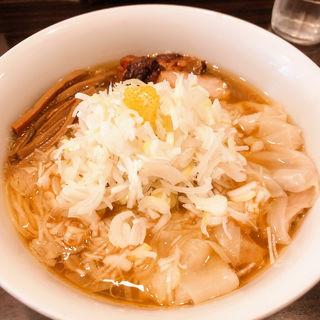 地鶏ワンタン麺(Tsurumen 大阪城北詰店 )
