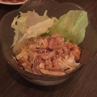 中国のポテトサラダ(甜麺醤)(中華屋台 雷電)