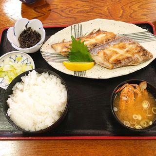 タチウオの塩焼き定食(食事処 池田 )