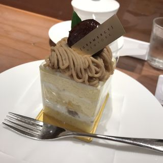 和栗と和三盆のショートケーキ(グラマシー ニューヨーク 高島屋日本橋店 )