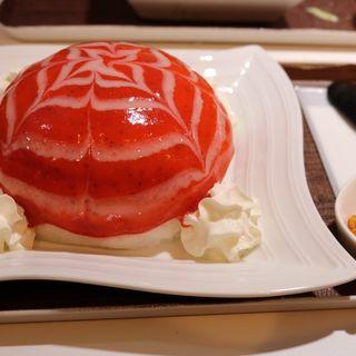 イチゴフロマージュ(麺とかき氷 ドギャン)