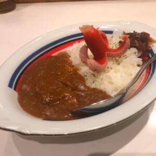 牛すじと煮豚のカレー 小(ふるめん )