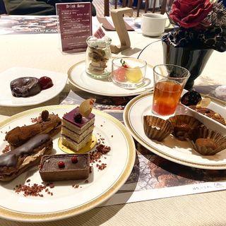 チョコレート&スイーツランチビュッフェ(太閤園 桜苑 )