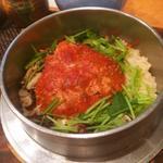 背子ガニの釜炊き御飯