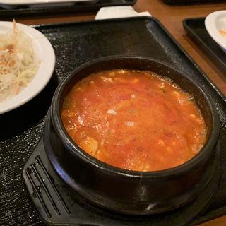 チゲ鍋(北の台所おんじき 新ばし家 )