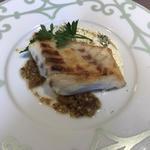 真鯛のソテー クリームチーズソース