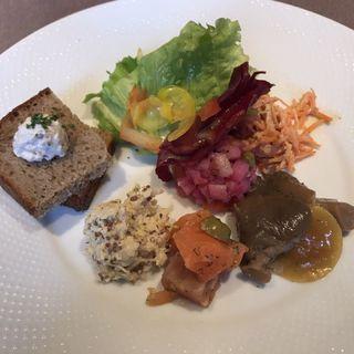 ザクスカ 前菜とサラダ盛り合わせ 2人前(渋谷ロゴスキー 銀座本店)
