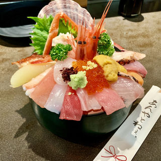 海鮮丼(山さん寿司 本店 )