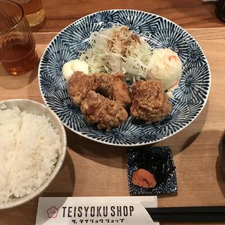 北海道 知床鶏の唐揚げ定食(ザ テイショクショップ)