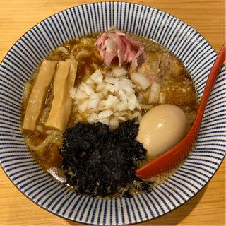 味玉入り 背脂醤油らー麺(焼きあご塩らー麺 たかはし )