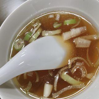 炒飯のスープ(菜来軒 )
