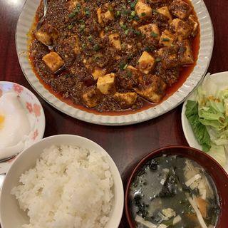麻婆豆腐定食(中国家庭料理 楊 2号店 (チュウゴクカテイリョウリヤン))